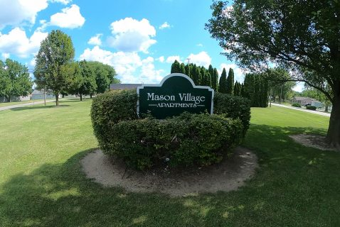 sign on lawn